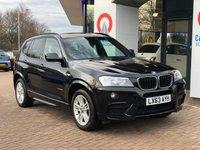 USED 2013 63 BMW X3 2.0 XDRIVE20D M SPORT 5d 181 BHP 5865.00 BMW OPTIONAL EXTRAS