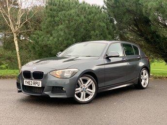 2013 BMW 1 SERIES 2.0 120D M SPORT 5d 181 BHP £8950.00