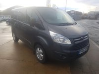 2016 FORD TRANSIT CUSTOM 2.2 270 LIMITED LOW ROOF PANEL VAN 153 BHP SOLD