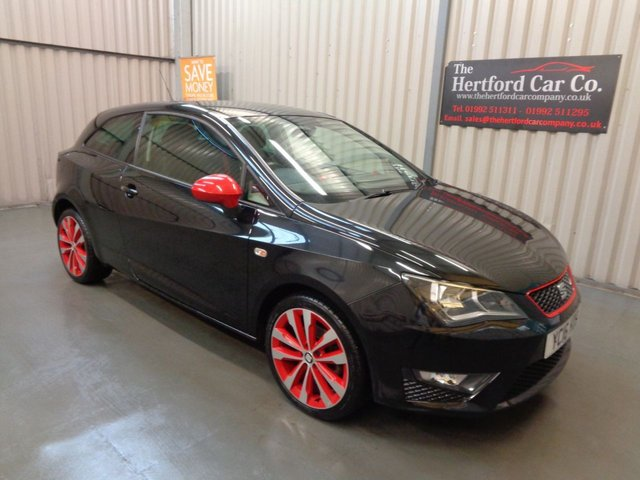 2016 16 SEAT IBIZA 1.2 TSI FR RED EDITION 3d 109 BHP