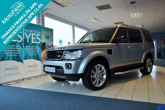 2016 16 LAND ROVER DISCOVERY 4 3.0 SDV6 LANDMARK 5d 255 BHP REAR FACTORY DVDS