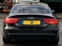 USED 2015 15 AUDI A5 3.0 TDI Black Edition Plus Sportback S Tronic quattro 5dr 1Owner/B&O/SportPack/XenonPlus