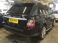 USED 2013 13 LAND ROVER RANGE ROVER SPORT 3.0 SD V6 HSE Black Edition 4X4 (s/s) 5dr UNBEATABLE VALUE+BLACK EDITION