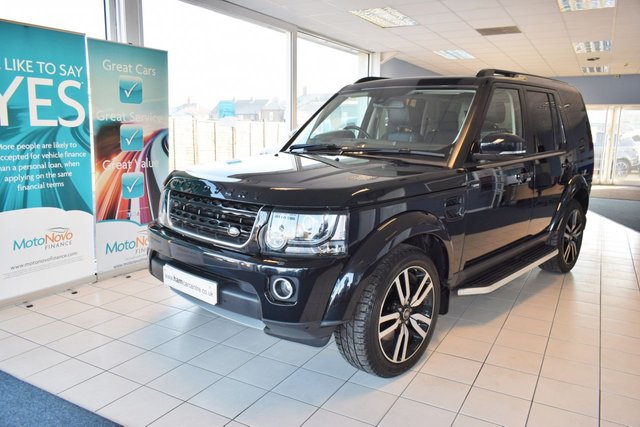 2015 65 LAND ROVER DISCOVERY 4 3.0 SDV6 HSE LUXURY 5d 255 BHP FACTORY REAR DVDS