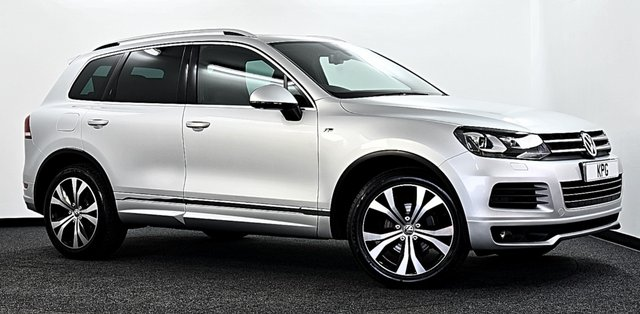 USED 2013 63 VOLKSWAGEN TOUAREG 3.0 TDI V6 R-Line Tiptronic 4x4 (s/s) 5dr F/S/H (7 Stamps), Immaculate!
