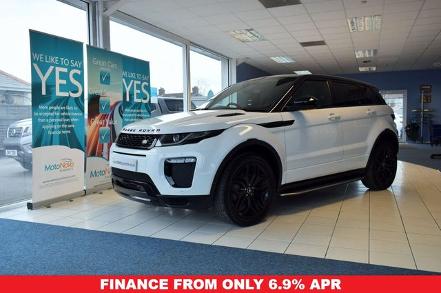 2017 17 LAND ROVER RANGE ROVER EVOQUE 2.0 TD4 HSE DYNAMIC 5d 177 BHP LOW MILES BLACK STYLING PACK
