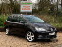 USED 2014 14 VOLKSWAGEN SHARAN 2.0 SEL TDI 5dr Pan Roof, PDC, Leather, Cruise