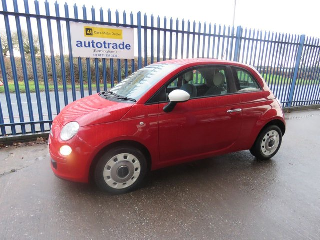 USED 2015 15 FIAT 500 1.2 COLOUR THERAPY 3d 69 BHP ULEZ COMPLIANT