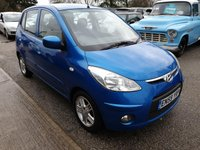 USED 2010 59 HYUNDAI I10 1.1L EDITION 5d 65 BHP £30 a Year Road Tax, Economical and Reliable I10. Cheap to Insure! Ideal Little Run Around Or First Car!