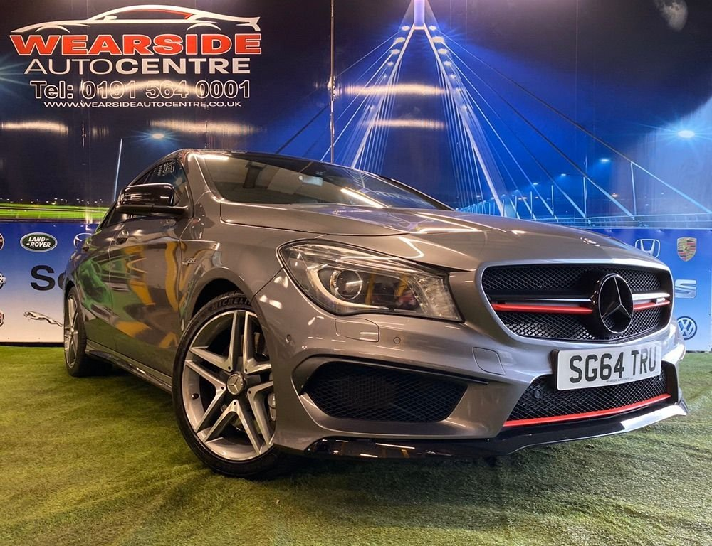 USED 2014 N MERCEDES-BENZ CLA 2.0 CLA45 AMG Coupe 4dr Petrol Speedshift DCT 4MATIC (s/s) (165 g/km, 360 bhp) FSH 12Months warranty
