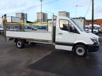 USED 2015 65 MERCEDES-BENZ SPRINTER 2.1 313 CDI LWB DROPSIDE, 129 BHP [EURO 5]