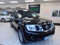 USED 2010 10 NISSAN PATHFINDER 2.5 TEKNA DCI 5d 188 BHP SERVICE HISTORY + DEC 2020 MOT + 7 SEATS + SATELLITE NAVIGATION + BLUETOOTH + TOUCH SCREEN + ELECTRIC SEATS + ELECTRIC WINDOWS + REMOTE CENTRAL LOCKING + ALLOYS + CRUISE CONTROL + CLIMATE CONTROL + FULL LEATHER TRIM + HEATED FRONT SEATS