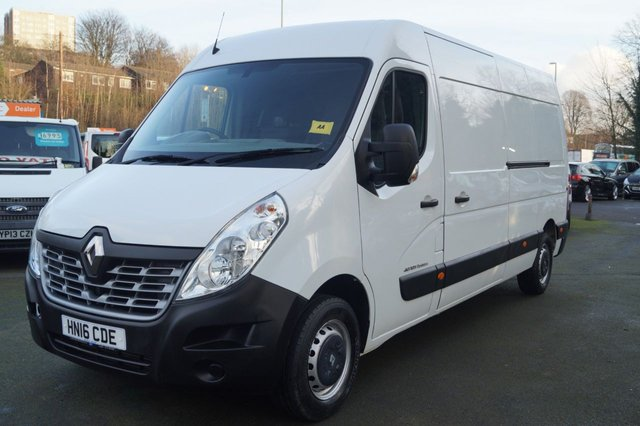 2016 16 RENAULT MASTER 2.3 LM35 BUSINESS DCI S/R P/V 125 BHP