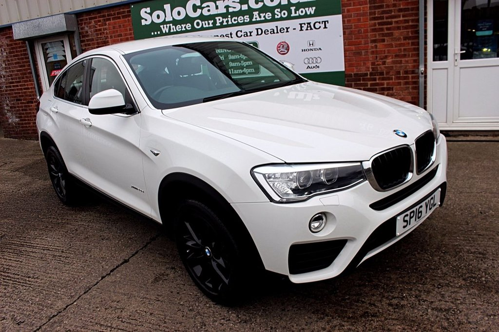 USED 2016 16 BMW X4 2.0 XDRIVE20D SE 4d AUTO 188 BHP +ONE OWNER +SERVICED +CAMERA.