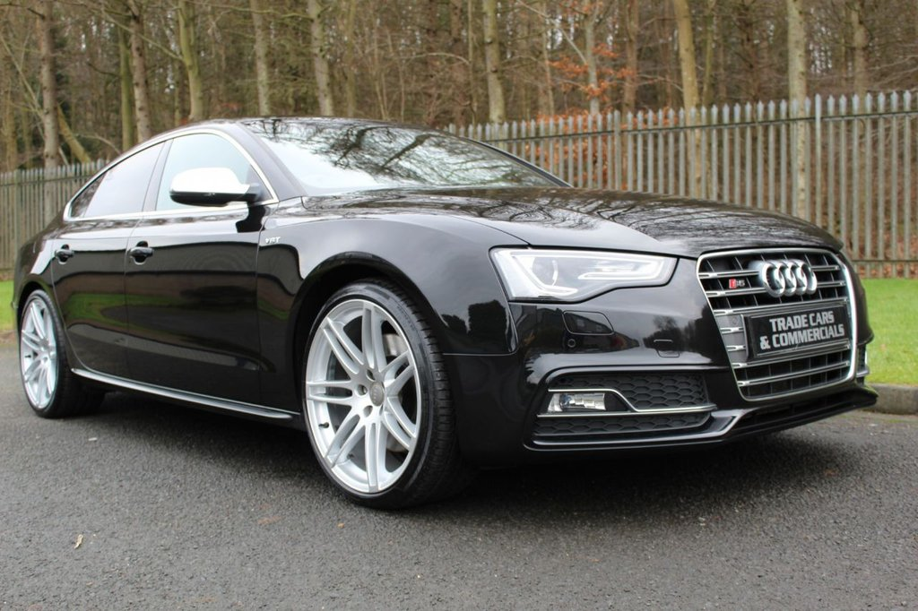 """USED 2012 12 AUDI A5 3.0 S5 SPORTBACK TFSI QUATTRO 5d 333 BHP A STUNNING CAR WITH 20"""" ALLOYS AND A FULL SERVICE HISTORY!!!"""