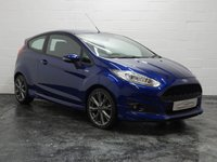 USED 2016 66 FORD FIESTA 1.5 ST-LINE TDCI 3d 94 BHP 1 OWNER + 3 FORD SERVICES + SAT NAV