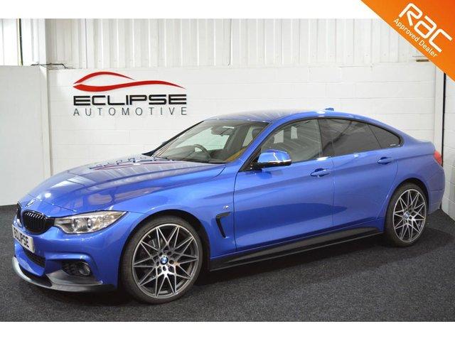 2016 66 BMW 4 SERIES 2.0 420D XDRIVE M SPORT GRAN COUPE 4d AUTO 188 BHP