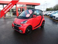 USED 2014 SMART FORTWO CABRIO 1.0 GRANDSTYLE EDITION MHD 2d 71 BHP *****12 Months Warranty*****
