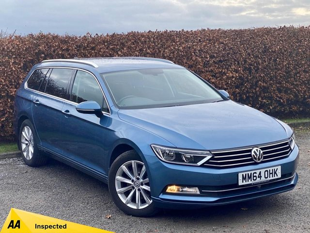 USED 2015 64 VOLKSWAGEN PASSAT 2.0 SE BUSINESS TDI BLUEMOTION TECHNOLOGY 5d  * FULL SERVICE HISTROY * ECONOMICAL * 6 SPEED GEARBOX *