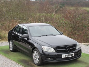 2010 MERCEDES-BENZ C CLASS 2.1 C200 CDI BLUEEFFICIENCY EXECUTIVE SE 4d 136 BHP £4990.00