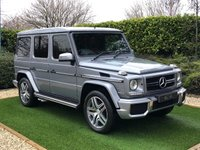 USED 2015 15 MERCEDES-BENZ G-CLASS 5.5 G63 AMG 5d 544 BHP Passion, Perfection and Power make every Journey feel like a Victory in the Mercedes G 63AMG. Finished in Palladium Silver Metallic with Stunning Classic Red Designo Leather Designo interior<BR> This One of a kind G63 has Been Exclusively Maintained by Mercedes themselves and Comes Supplied with a Full Mercedes Service History for Complete Peace of Mind. <BR> Entertainment Package with Rear Seat Screens and the Winter Package have been Generously Added