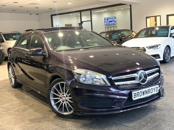 2014 MERCEDES-BENZ A CLASS 2.1 A220 CDI BLUEEFFICIENCY AMG SPORT 5d 170 BHP £13990.00