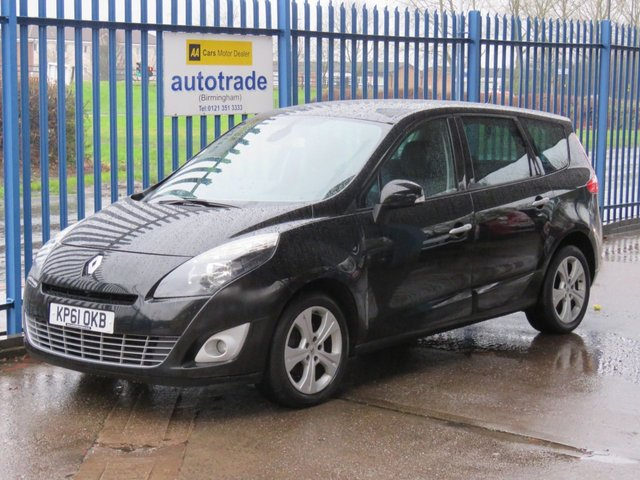 USED 2011 61 RENAULT SCENIC 1.5 DYNAMIQUE TOMTOM DCI 5d 110 BHP 7 Seater with  Air Conditioning,Privacy glass and service history