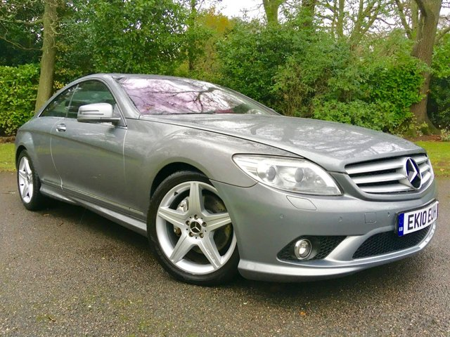 2010 10 MERCEDES-BENZ CL 5.5 CL500 2d AUTO 387 BHP 2 OWNERS / GREAT MERC HISTORY