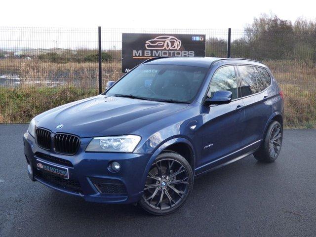 2012 BMW X3 M SPORT XDRIVE 20D 5d 181 BHP