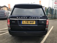 USED 2016 16 LAND ROVER RANGE ROVER 3.0 TDV6 AUTOBIOGRAPHY 5d 255 BHP MASSAGING SEATS, TV, SUNROOF