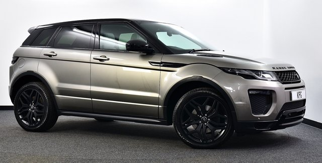 USED 2017 66 LAND ROVER RANGE ROVER EVOQUE 2.0 TD4 HSE Dynamic Auto 4WD (s/s) 5dr Pan Roof, Black Pack, Camera +