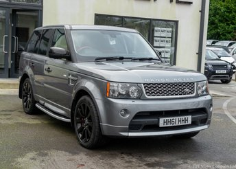 2011 LAND ROVER RANGE ROVER SPORT 5.0 V8 AUTOBIOGRAPHY SPORT 5d 510 BHP £18990.00