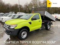 2012 FORD RANGER TIPPER 2.2 XL 4X4 TDCI 2d 148 BHP *NEW TIPPER BODY*44K* £9995.00