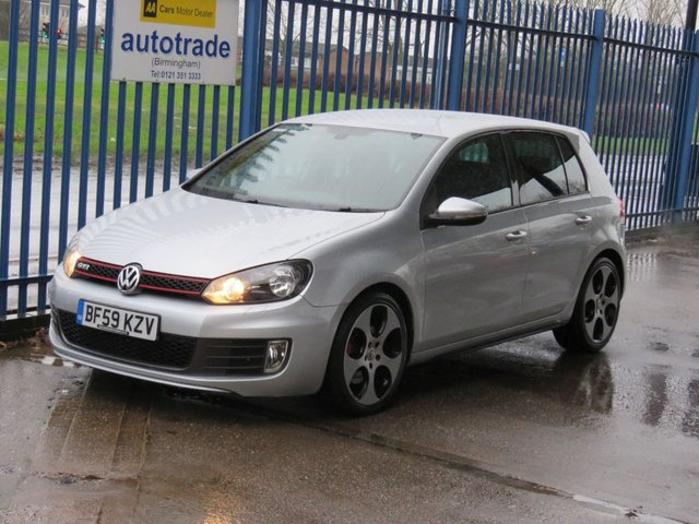 USED 2009 59 VOLKSWAGEN GOLF 2.0 GTI DSG 5dr 210 Full leather Privacy Heated seats Paddle shift Alloys Automatic,Low Miles with Leather and History
