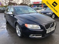 2009 VOLVO V70 D R-DESIGN WITH ONLY 86000 MILES, FULL SERVICE HISTORY, GREAT SPEC INCLUDING BLACK AND WHITE LEATHER INTERIOR . THIS IS A ULEZ COMPLIANT VEHICLE  £4999.00