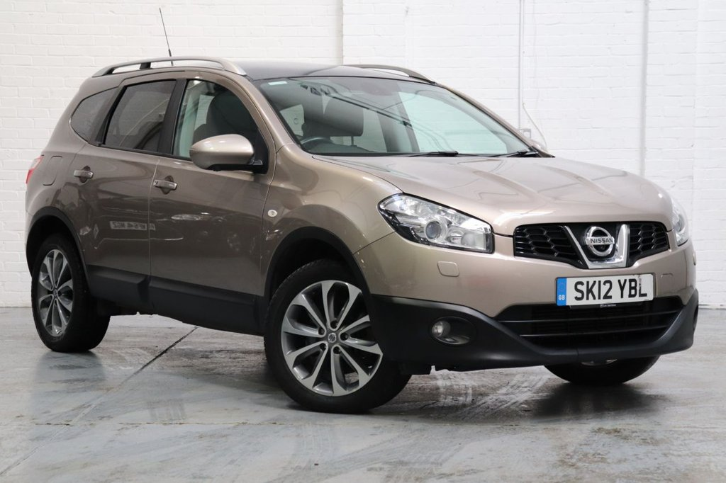 USED 2012 12 NISSAN QASHQAI+2 1.6 TEKNA IS PLUS 2 DCI 4WDS/S 5d 130 BHP Satnav + 360 Camera + Panoramic Roof + Leather + Cruise + Fsh