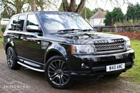 USED 2009 59 LAND ROVER RANGE ROVER SPORT 3.6 TDV8 SPORT HSE AUTO [270 BHP] 4x4