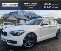USED 2014 14 BMW 1 SERIES 2.0 116D SPORT 5d 114 BHP