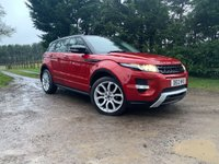 USED 2012 12 LAND ROVER RANGE ROVER EVOQUE 2.2 SD4 DYNAMIC 5d 190 BHP FANTASTIC CONDITION. VERY LOW MILES 42K. FULL LANDROVER HISTORY. SAT NAV. BLUETOOTH. REAR CAM. PAN ROOF. JUST SERVICED AND MOT.