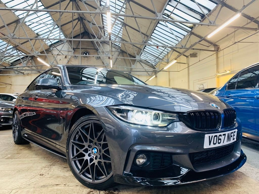 USED 2017 67 BMW 4 SERIES 2.0 420d M Sport Gran Coupe Auto (s/s) 5dr PERFORMANCE KIT 19S STUNNER!