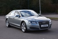 USED 2011 60 AUDI A8 4.1 TDI QUATTRO SE EXECUTIVE 4d 346 BHP