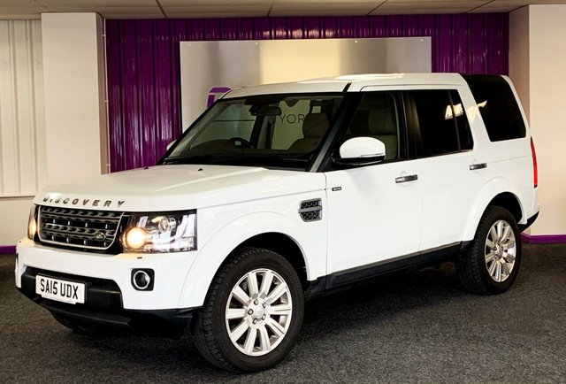2015 15 LAND ROVER DISCOVERY 3.0 SDV6 SE 5d 255 BHP
