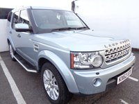 2012 LAND ROVER DISCOVERY 4 3.0 4 SDV6 HSE 5d 255 BHP AWD 4X4 4WD £18975.00