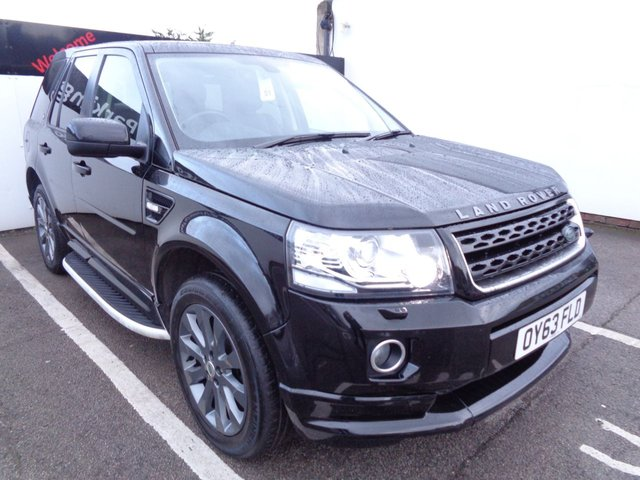 USED 2013 63 LAND ROVER FREELANDER 2.2 SD4 DYNAMIC 5d 190 BHP AWD 4X4 4WD 19 Inc Alloys Air Con Leather Trim Sat Nav Parking Sensors Privacy Glass Sunroof