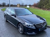 USED 2015 65 MERCEDES-BENZ E CLASS 2.1 E220 BLUETEC AMG NIGHT EDITION 5d 174 BHP AUTO COMMAND SAT NAV, HEATED SEATS