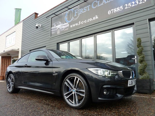 2017 67 BMW 4 SERIES 420D M.Sport Coupe X.Drive