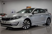 USED 2012 12 KIA OPTIMA 1.7L 3 CRDI 4d AUTO 134 BHP SUNROOF, 7 SERVICE STAMPS, LOVELY COMFORTABLE PRACTICAL CAR!