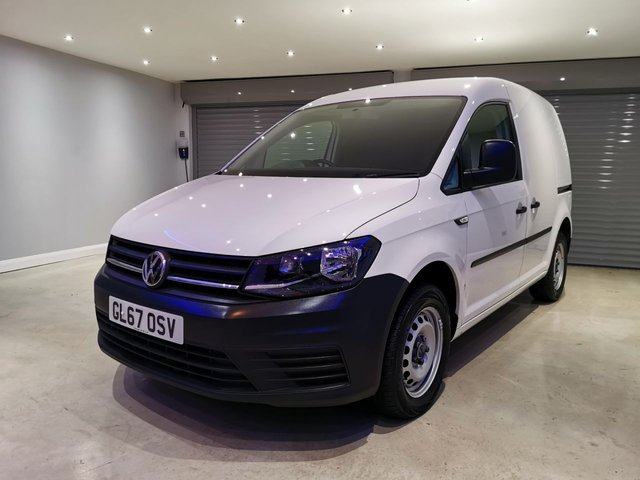 USED 2017 67 VOLKSWAGEN CADDY 2.0 C20 TDI STARTLINE 101 BHP PLY LINED + SIDE LOADING DOOR + IMMACULATE CONDITION