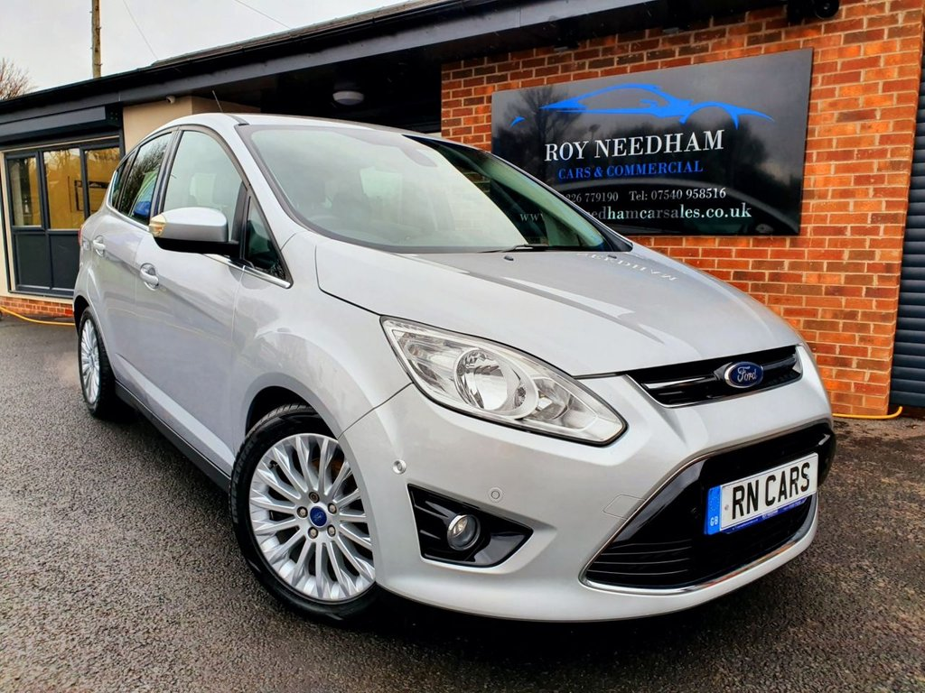 USED 2011 61 FORD C-MAX 1.6 TITANIUM 5DR 148 BHP *** LOW MILES - FULL FORD HISTORY ***