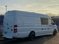 USED 2011 11 MERCEDES-BENZ SPRINTER 2.1 313 CDI XLWB 129 BHP MOTORHOME LUXURY CAMPER